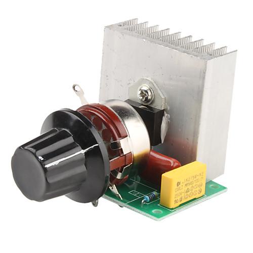 3800W регулируемая 0 220В стабилизатор напряжения для диммирования ламп Light Speed Control (220) 2017 - p.368.9