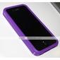 아이폰 4 보호 실리콘 범퍼 (보라색)