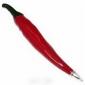 Stylo à bille en forme de piment avec aimant (rouge)