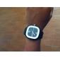 달콤한 실리콘 젤리 시계, 검은 색