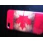 아이폰 4와 4S (캐나다 국기)에 대한 보호 레트로 스타일의 폴리 카보네이트 케이스