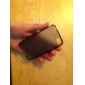 Protective Transparent Soft Case for iPhone4 (Black)