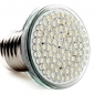 e27 80 LED 400lm 3 3.5w 6000-6500k 화이트 스폿 전구 (220-240V)