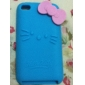 Angel Pattern Silicon Soft Case for iTouch 4 (Assorted Colors)