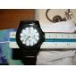 Классические аналоговые кварцевые часы с календарем (разные цвета)