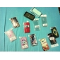 tour de vintage et tendance cas plan dur pour iphone 4 et 4s (multi-couleur)