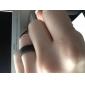 반지 Others 유니크 디자인 패션 일상 보석류 합금 남성 밴드 반지 1PC,8 블랙 실버