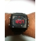 WEIDE® Men's PU Analog - Digital Multi-Movement Wrist Watch (Black) Cool Watch Unique Watch