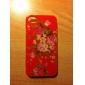 Панель с цветочными мотивами для iPhone 4 и 4S (разные цвета)