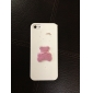 Pink Bear Pattern Detachable Full Body Hard Case for iPhone 5/5S