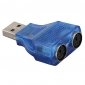 PS/2 to USB 2.0 Adapter