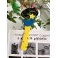 자와 만화 디자인 다채로운 나무 북마크 (임의 색상)