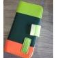 Case em Pele com Suporte e Carteira para iPhone 5 (Várias Cores)