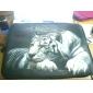 de descanso tigre neoprene manga caso laptop por 10-15
