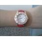 непринужденный стиль женщины сплава аналоговые кварцевые наручные часы (разных цветов)