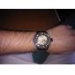 Мужской Наручные часы Механические часы С автоподзаводом С гравировкой Нержавеющая сталь Группа Черный марка SHENHUA