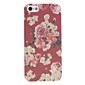 For iPhone 5 Case Case Cover Pattern Back Cover Case Flower Hard PC for iPhone SE/5s iPhone 5