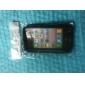 Силиконовый защитный чехол для iPhone4 (черный)