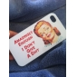 Etui Rigide Motif Femme pour iPhone 4/4S