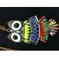 красочные соответствующие сова старинные ожерелья