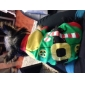 Chat Chien Costume Tee-shirt Vert Vêtements pour Chien Hiver Printemps/Automne Couleur Pleine Mignon Cosplay