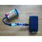 2PCS DC-DC 스텝 업 모듈 (0.9V ~ 5V)로-5V 600MA USB (휴대용 충전기)