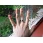 eruner®unisex параллельных линий титана стальное кольцо