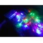 Рождественская гирлянда, 3M, 4 цвета, 2 режима работы (3xAA)
