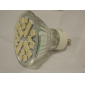 Lâmpada de Foco GU10 5 W 360 LM 2700K K Branco Quente 24 SMD 5050 AC 220-240 V MR16