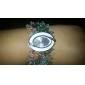 여자의 다채로운 작풍 플라스틱 아날로그 석영 팔찌 시계 (분류 된 색깔)