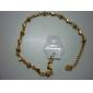 Тупые польские бисера в форме сердца позолоченный Bracelace