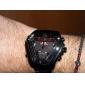 WEIDE Masculino Relógio Militar Relógio de Pulso Quartzo Quartzo Japonês LED Calendário Cronógrafo Impermeável Dois Fusos Horários alarme