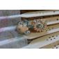 비대칭 에나멜 데이지 꽃 드롭 귀걸이의 한국어 버전 여성 조류 귀걸이 귀걸이 프놈펜 E399