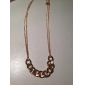 Women's Thick Bottom Sweater Chain Necklace N1026