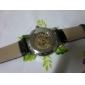 Мужской Механические часы Наручные часы С гравировкой С автоподзаводом PU Группа Черный