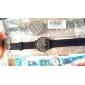 아이들의 비행기 패턴 파란색 실리콘 밴드 석영 아날로그 손목 시계