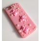 Pour Coque iPhone 5 Antichoc / Relief Coque Coque Arrière Coque Dessin Animé 3D Dur Polycarbonate iPhone SE/5s/5