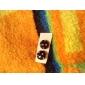 Серьги-гвоздики Нержавеющая сталь Резина В форме звезды Бижутерия Повседневные