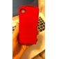Классический чехол из искусственной кожи для iPhone 4 и 4S (черный)
