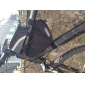 ROSWHEEL 삼각형 순환 자전거 정면 관 구조 부대 옥외 산악 자전거 주머니 1.5L