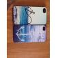 Якорь и Футляр Пляж Pattern ПК для iPhone 4/4S