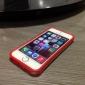 Case Pára-Choques Transparente para iPhone 5 (Várias Cores)