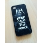 Flash Style Cool Private Pattern Hard Case for iPhone 4/4S