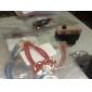 Moda Couro Cruz AMOR Forma Pulseiras Wrap (1 Pc)