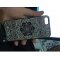 Hard Case PC grand Motif Gris fleur pour iPhone 5/5S