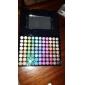 88 Paleta de Sombras Mate / Brilho Paleta da sombra Pó Grande Maquiagem para o Dia A Dia / Maquiagem de Festa / Maquiagem Esfumada