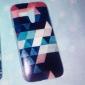 Motorala 모토 G 다채로운 다이아몬드 퍼즐 추상 패턴 플라스틱 하드 케이스
