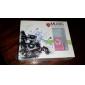 클립 핑크 & 화이트와 TF 카드 판독기 MP3 플레이어 가방