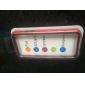 아이폰 5C를위한 두 배 색깔 TPU 연약한 풍부한 구조 (선택적인 색깔)