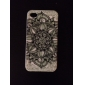 Flower Pattern Silicone Soft Case for iPhone4/4S